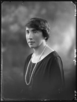 Dorothy Mary Mowbray (née Sayer), Lady Sturdee, by Bassano Ltd - NPG x34976