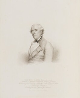 Samuel Barrington, by Gaetano Stefano Bartolozzi, published by  T. Cadell & W. Davies, after  William Evans, after  Gilbert Stuart - NPG D14601