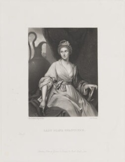 Lady Diana Beauclerk (née Spencer), by George H. Every, published by  Henry Graves, after  Sir Joshua Reynolds - NPG D14617