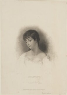Mary Anne Musters (née Chaworth), by William Finden, published by  John Samuel Murray, after  Frank Stone - NPG D14623