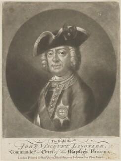 John Ligonier, 1st Earl Ligonier, published by Robert Sayer, after  Bartholomew Dandridge - NPG D14626