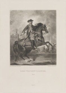 John Ligonier, 1st Earl Ligonier, by Samuel William Reynolds, published by  Henry Graves & Co, after  Sir Joshua Reynolds - NPG D14628
