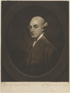 Andrew Stuart, by Thomas Watson, after  Sir Joshua Reynolds - NPG D14632