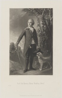 Sir Henry Bate Dudley, 1st Bt, by James Scott, published by  Henry Graves, after  Thomas Gainsborough - NPG D14633