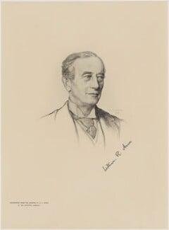 Sir William Reynell Anson, 3rd Bt, after Henry John Stock, (1907) - NPG D18069 - © National Portrait Gallery, London