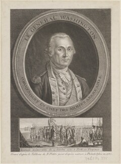 George Washington, after Charles Willson Peale - NPG D14655