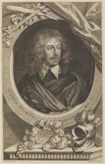 Sir John Suckling, by George Vertue, after  Sir Anthony van Dyck - NPG D14660
