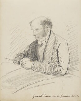 General Dixon, in a Pensive Mood, by Hon. Henry Richard Graves - NPG D18085(1)