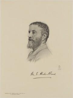 Michael Edward Hicks Beach, 1st Earl St Aldwyn, after Henry Tanworth Wells - NPG D18076