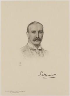 William Waldegrave Palmer, 2nd Earl of Selborne, after Henry Tanworth Wells - NPG D18078