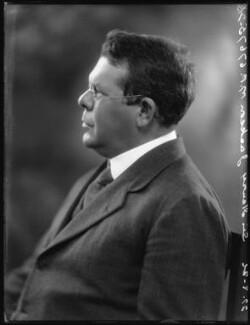 Sir Henry Jackson, 1st Bt, by Bassano Ltd - NPG x36632