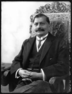 Sir Charu Chunder Ghose, by Bassano Ltd - NPG x36635