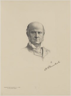 David Robert Plunket, 1st Baron Rathmore, by The Autotype Company, after  Henry James Haley - NPG D18081