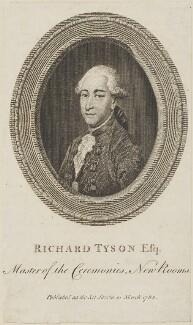 Richard Tyson, by Unknown artist - NPG D14673