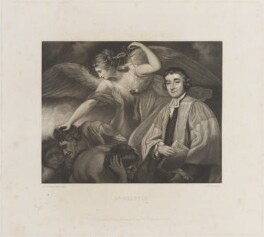 James Beattie, by Frederick Bromley, published by  Henry Graves, after  Sir Joshua Reynolds - NPG D14674