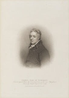 George Wyndham, 3rd Earl of Egremont, by John Samuel Agar, published by  T. Cadell & W. Davies, after  John Wright, after  Thomas Phillips, published 16 April 1810 - NPG D14676 - © National Portrait Gallery, London