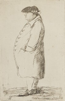 George Bodens, by James Sayers, published by  Charles Bretherton - NPG D14683