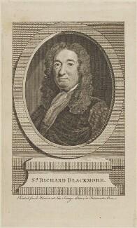Sir Richard Blackmore, published by John Hinton - NPG D14691