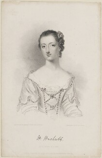 Lady Harriet Hesketh (née Cowper), by John Henry Robinson, published by  Baldwin & Cradock, after  William Harvey, after  Francis Cotes - NPG D14693