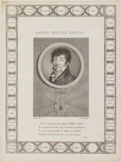 Henri Montan Berton, by Augustin de Saint-Aubin, after  François Dumont - NPG D14694