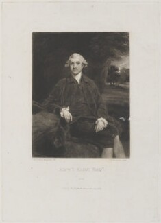 Edward Eliot, 1st Baron Eliot of St Germans, by and published by Samuel William Reynolds, after  Sir Joshua Reynolds - NPG D14702