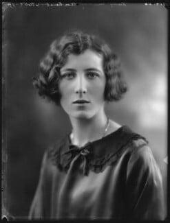 Lady Mary Evelyn Gaussen (née Amherst), by Bassano Ltd - NPG x36629