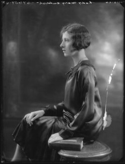 Lady Mary Evelyn Gaussen (née Amherst), by Bassano Ltd - NPG x36630
