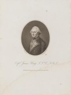 James King, by Francesco Bartolozzi, published by and after  John Webber - NPG D14706