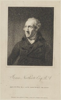 James Northcote, by Henry Meyer, published by  Henry Colburn, after  John Jackson - NPG D14710