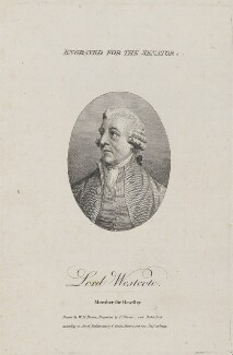 Sir George Fulke Lyttelton, 2nd Bt, by Charles Warren, published by  Charles Cooke, after  W.H. Brown - NPG D14713
