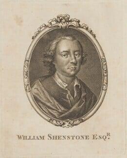 William Shenstone, by Unknown artist - NPG D14714
