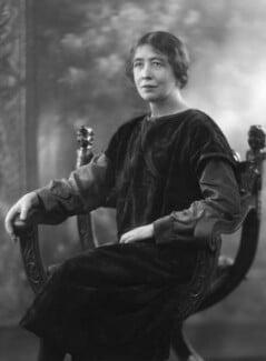 Sylvia Pankhurst, by Bassano Ltd, 25 February 1927 - NPG x18835 - © National Portrait Gallery, London