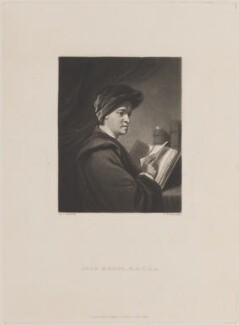 John Mudge, by Samuel William Reynolds, published by  Hodgson & Graves, after  Sir Joshua Reynolds - NPG D14724
