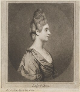 Maria Marowe (née Wilmot), Lady Eardley of Spalding when Lady Gideon, after Sir Joshua Reynolds - NPG D14727