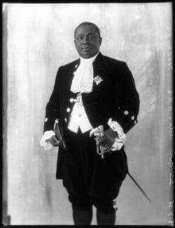 Nana Sir Ofori Atta, by Bassano Ltd, 5 June 1928 - NPG x81129 - © National Portrait Gallery, London