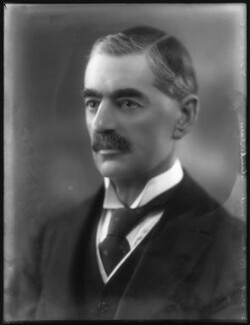 Neville Chamberlain, by Bassano Ltd - NPG x81135