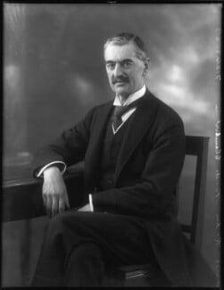 Neville Chamberlain, by Bassano Ltd, 21 February 1929 - NPG x81137 - © National Portrait Gallery, London