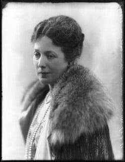 Anne Vere Chamberlain (née Cole), by Bassano Ltd - NPG x81139
