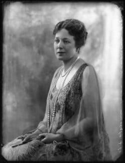 Anne Vere Chamberlain (née Cole), by Bassano Ltd - NPG x81140