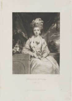 Anne Buller (née Lemon), by and published by Samuel William Reynolds, after  Sir Joshua Reynolds - NPG D14737