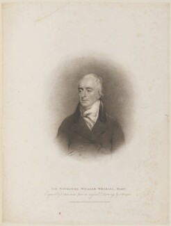 Sir Nathaniel William Wraxall, 1st Bt, by Thomas Cheesman, published by  T. Cadell & W. Davies, after  John Wright - NPG D14740