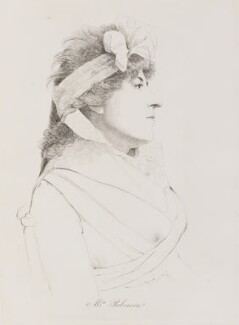 Mary Robinson (née Darby), by William Daniell, after  George Dance - NPG D14744