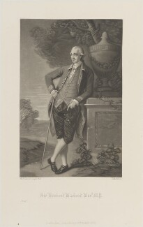 Harbord Harbord Suffield, 1st Baron Suffield, by Robert Bowyer Parkes, published by  Henry Graves, after  Thomas Gainsborough - NPG D14745