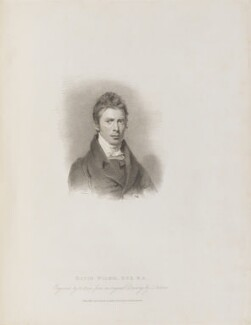 Sir David Wilkie, by Henry Meyer, published by  T. Cadell & W. Davies, after  John Jackson - NPG D14757