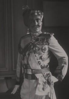 Ganga Singh, Maharaja of Bikaner, by Walter Stoneman, 1930 - NPG x165187 - © National Portrait Gallery, London