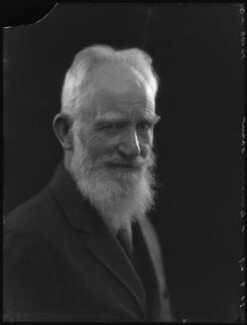 George Bernard Shaw, by Bassano Ltd - NPG x19075