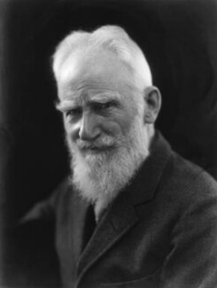 George Bernard Shaw, by Bassano Ltd - NPG x19076