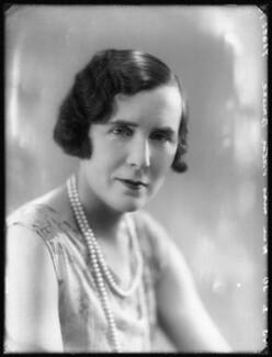 Mildred Mary Bruce (née Petre), by Bassano Ltd - NPG x78539