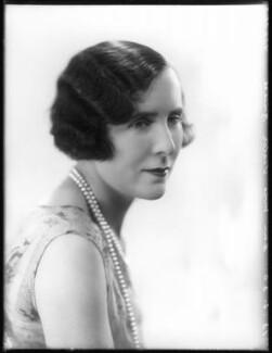 Mildred Mary Bruce (née Petre), by Bassano Ltd - NPG x78540