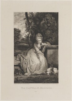 Mary Boyle (née Monckton), Countess of Cork and Orrery, by Samuel William Reynolds, after  Sir Joshua Reynolds - NPG D14766